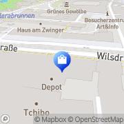 Karte WMF Dresden, Deutschland