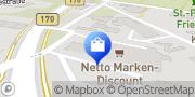 Karte Netto Filiale Dresden, Deutschland