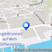 Karte Forstinger Mode Gmunden, Österreich