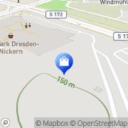 Karte Sconto SB Der Möbelmarkt GmbH - Dresden-Nickern Dresden, Deutschland
