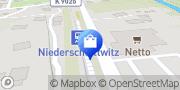 Karte Netto Filiale Glashütte, Deutschland