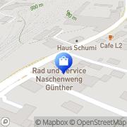 Karte Rad & Service - Günther Naschenweng Villach, Österreich