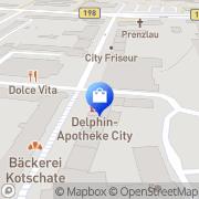 Karte Apollo-Optik Prenzlau, Deutschland