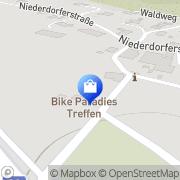 Karte Bikeparadies Inh Michael Härle Treffen, Österreich