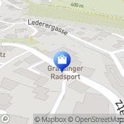 Karte GRASSINGER Radsport Lambach, Österreich