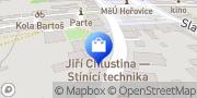 Map Žaluzie, těsnění oken a dveří - CHLUSTINA Jiří Hořovice, Czech Republic