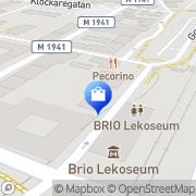 Karta Present & Dekor Osby, Sverige
