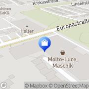 Karte Molto Luce GmbH Wels, Österreich