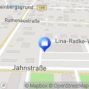 Karte Netto Filiale Fürstenwalde, Deutschland