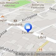 Karte Juwelier u Uhrmachermeister Zechner Christof Feldkirchen in Kärnten, Österreich
