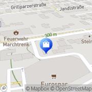 Karte Stadtapotheke Marchtrenk Mag. pharm. Manfred Prillinger KG Marchtrenk, Österreich