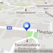 Karte St Anna Apotheke - Mag. Margot Lassnig Pörtschach am Wörthersee, Österreich