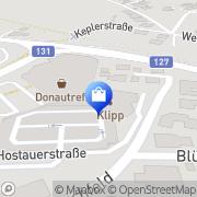 Karte FUSSL FLY - FUSSL MODESTRASSE Mayr Ottensheim, Österreich