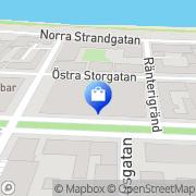 Karta Grillhouse i Jönköping Jönköping, Sverige