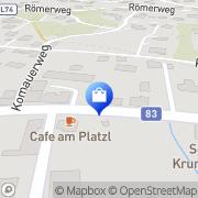 Karte See-Apotheke Mag pharm Christian Lassnig Krumpendorf, Österreich