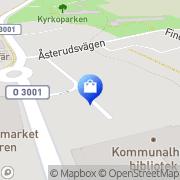 Karta Gröna Huset Hova, Sverige
