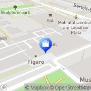 Karte Telekom Shop Hoyerswerda, Deutschland
