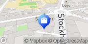 Karte Schweizer Messer Shop Linz, Österreich