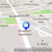 Karte Museum-Apotheke Dr Weixlbaumer Linz, Österreich