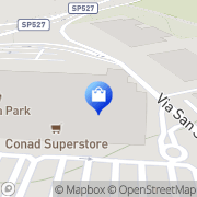 Map CONAD SUPERSTORE Zona Commerciale San Salvatore, Italy