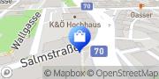 Karte ÖWD Österreichischer Wachdienst security GmbH & Co KG Klagenfurt, Österreich