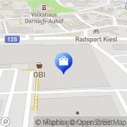 Karte OBI Markt Linz-Dornach Linz, Österreich