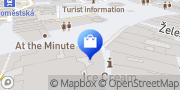 Map ERPET CRYSTAL * PORCELAIN * JEWELRY Prague, Czech Republic