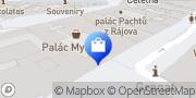 Map Petit Bateau Prague, Czech Republic