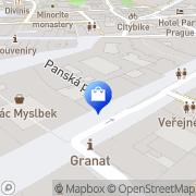 Map Tommy Hilfiger Prague, Czech Republic