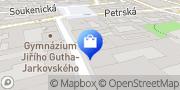 Map Drogerie Zlatnická Prague, Czech Republic