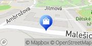 Map NAREX CONSULT - nářadí a nástroje Prague, Czech Republic