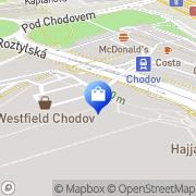 Map Peek & Cloppenburg Prague, Czech Republic