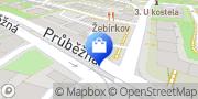 Map Zlatnictví Napoli Prague, Czech Republic