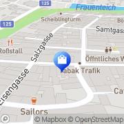 Karte Schöps Richard & Co AG Freistadt, Österreich