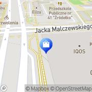Mapa Yves Rocher Szczecin, Polska