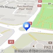 Karte Centrum s.c. Kuhbrücke, Deutschland