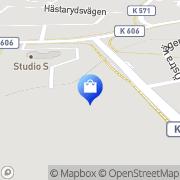 Karta MaskinCenter Blekinge Mörrum, Sverige