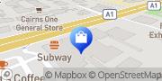 Map Jaycar Electronics Bungalow, Australia