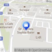 Karte Modeherr & Dame Inh Brigitte Hulla - Weber Trofaiach, Österreich