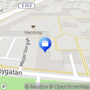 Karta Concredo Systemutveckling Örebro, Sverige