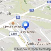 Karte Assl-Möbel GesmbH Lieboch, Österreich