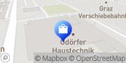 Karte ABEX ODÖRFER HAUSTECHNIK Graz, Österreich