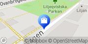 Karta Mösgårn Atelje Trixa Borlänge, Sverige