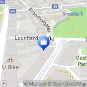 Karte Apotheke Zum Guten Hirten. Mag. Dr. D. Dreveny Graz, Österreich
