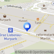 Karte Nike Factory Store Graz, Österreich