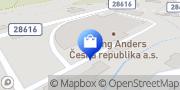 Map Hilding Anders Česká republika a.s. Roztoky u Jilemnice, Czech Republic
