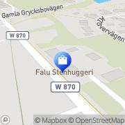 Karta Wall of Sound Falun, Sverige