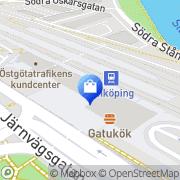 Karta Pressbyrån Linköping, Sverige