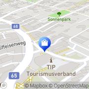 Karte Stadtapotheke Gleisdorf - Mag. E. Zirm-Maygraber e.U. Gleisdorf, Österreich