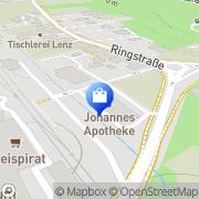 Karte Johannes Apotheke Bad Gleichenberg, Österreich